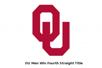 Men's:  OU Wins 2018 National TItle