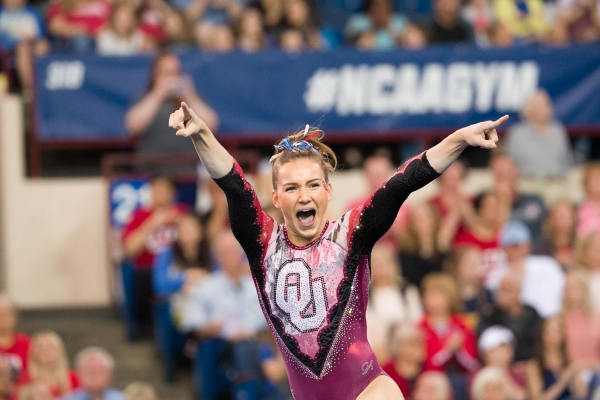 OU's Anastasia Webb is #2 on VT and #5 in the AA