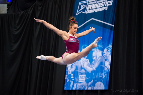 OU's Maggie Nichols, Two Time AA Champion